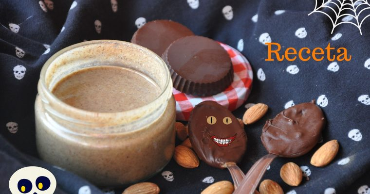 Reese's saludables. Bombones para Halloween.