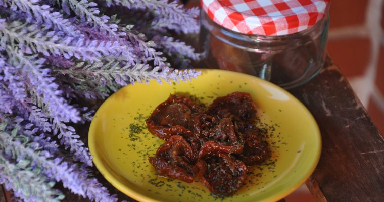 Conserva de tomate seco en aceite de oliva