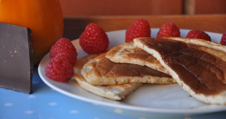 Tortitas sin azúcar. Pancakes