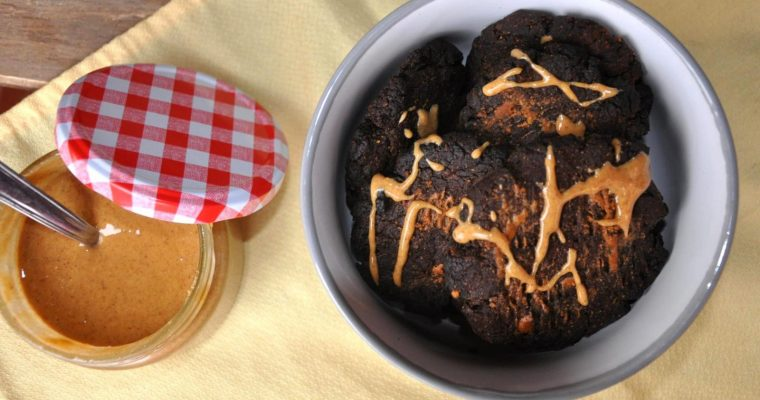 Galletas de cacao y crema de avellanas sanas