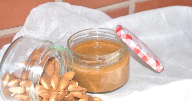 Crema de frutos secos: almendras sin azúcar